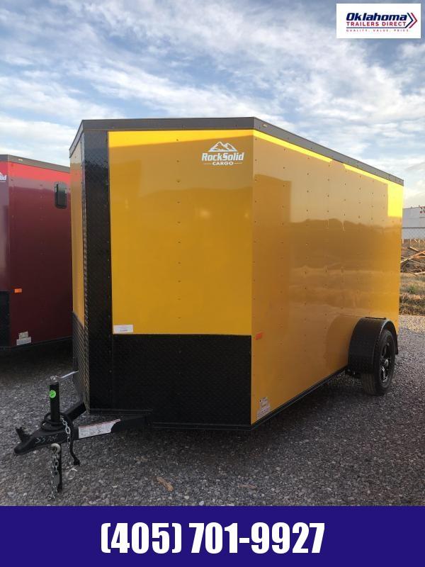 2021 Rock Solid Cargo 6' x 12' SA Enclosed Cargo Trailer