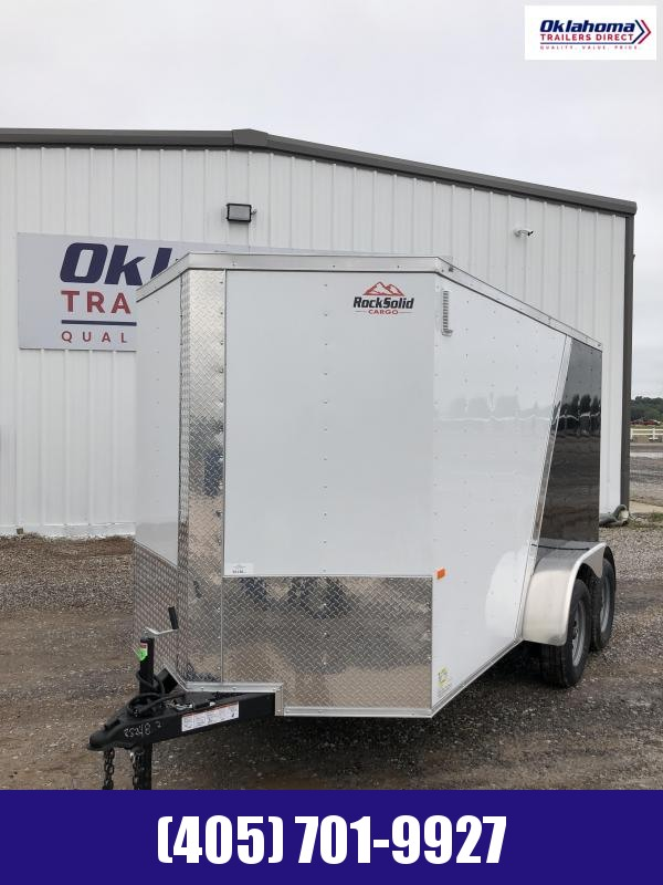 2021 Rock Solid Cargo 6 x 12 TA Enclosed Cargo Trailer