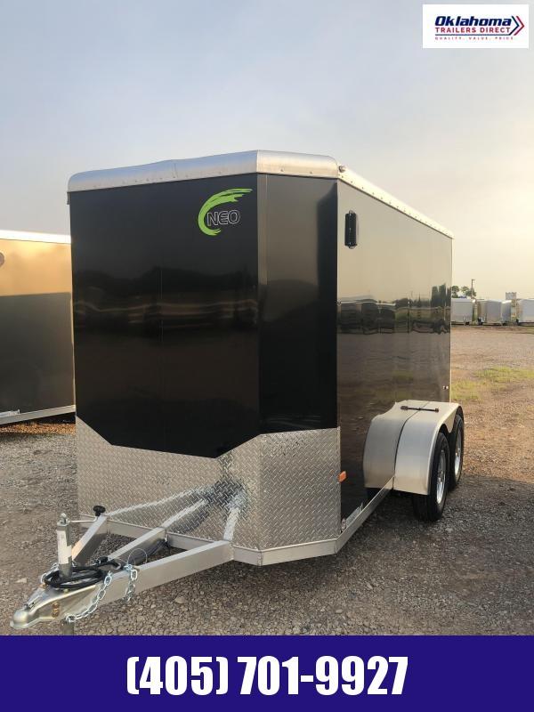 2020 NEO 6' x 12' Enclosed Cargo Trailer