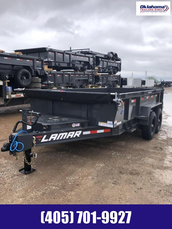 "2022 Lamar Trailers 83"" x 14' Tandem Axle Dump Trailer"