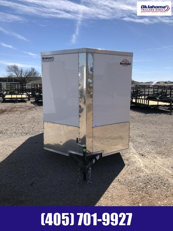 2021 Rock Solid Cargo 6' x 12' SA Enclosed Cargo Trailer