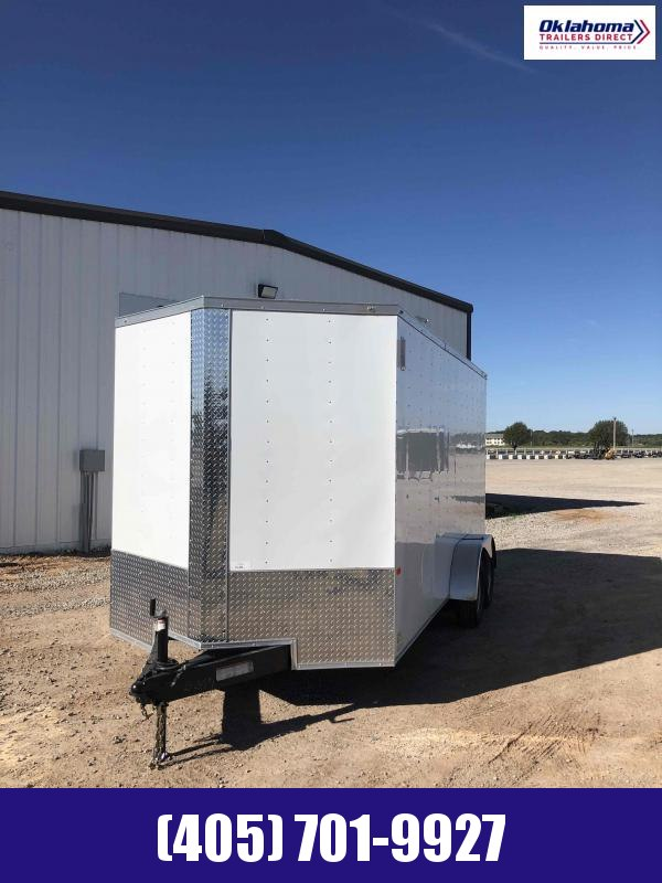 2020 Rock Solid Cargo 7'x16' TA Enclosed Cargo Trailer
