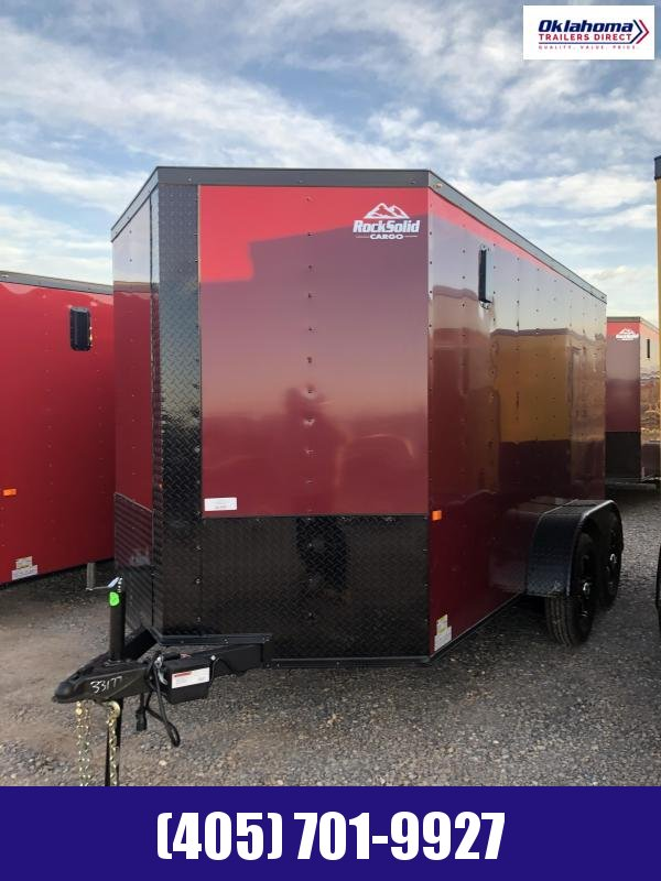 2021 Rock Solid Cargo 6' x 12' TA Enclosed Cargo Trailer