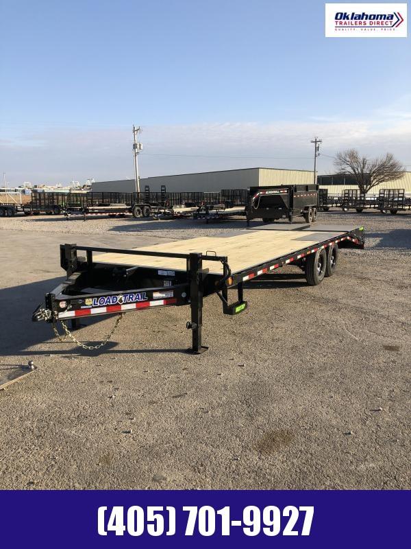 "2021 Load Trail 102"" x 24' TA Deckover Equipment Trailer"