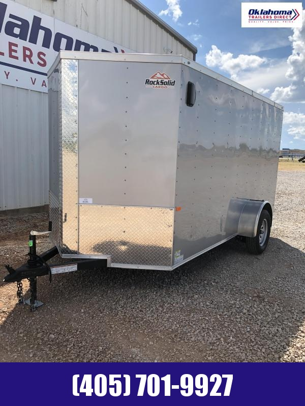 2020 Rock Solid Cargo 6'x12' SA Enclosed Cargo Trailer