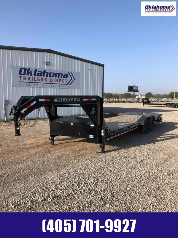 "2021 Iron Bull 102"" x 26' TA Gooseneck Equipment Trailer"