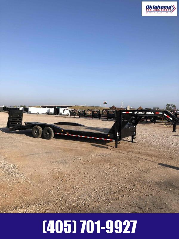 2021 Iron Bull 102 x 26' TA Gooseneck Equipment Trailer