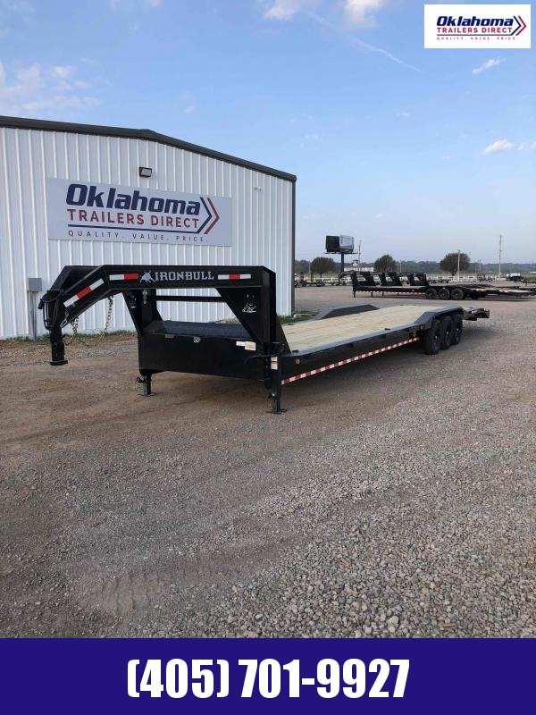 "2021 Iron Bull 102"" x 40' Triple Axle Gooseneck Equipment Trailer"