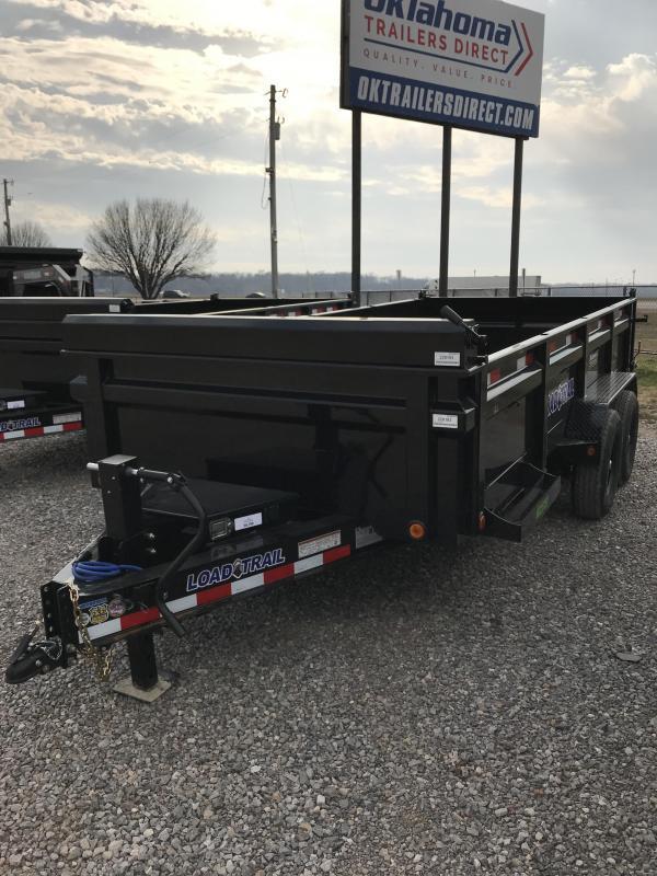 """2021 Load Trail 83"""" X 16' TA Dump Trailer"""