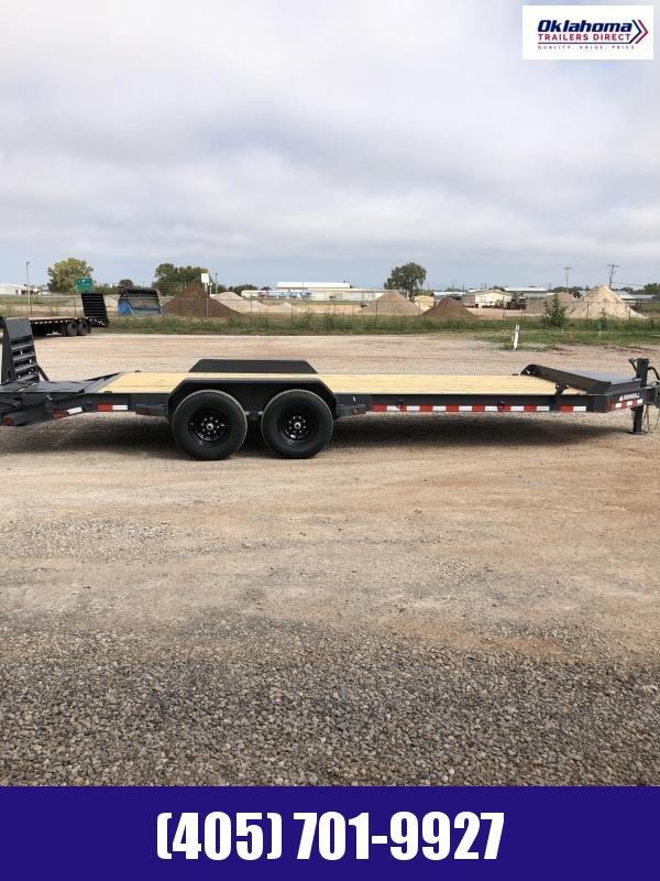 2021 Iron Bull 83 x 22' Equipment Trailer