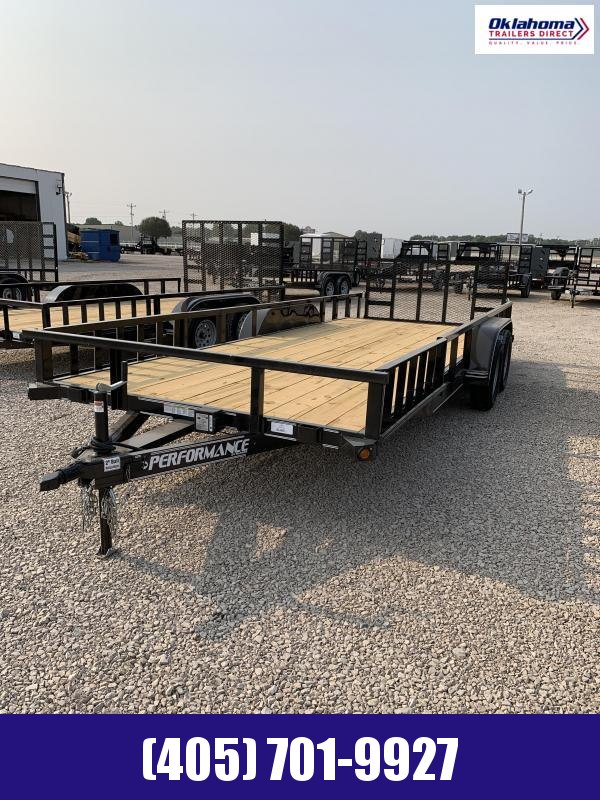 "2021 Performance Trailers 77"" X 20'  Utility Trailer"