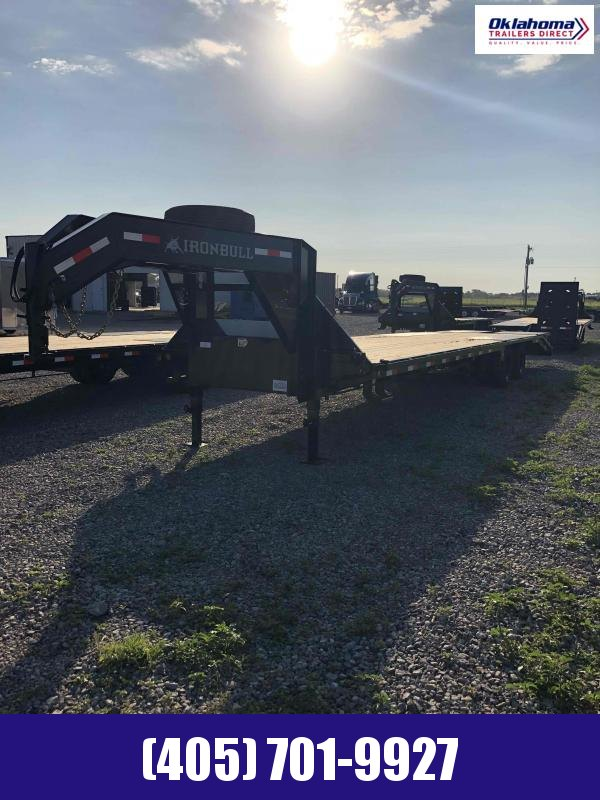 "2021 Iron Bull 102"" x 36' Gooseneck Equipment Trailer"