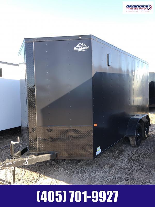 2022 Rock Solid Cargo 7 x 14 TA Enclosed Cargo Trailer