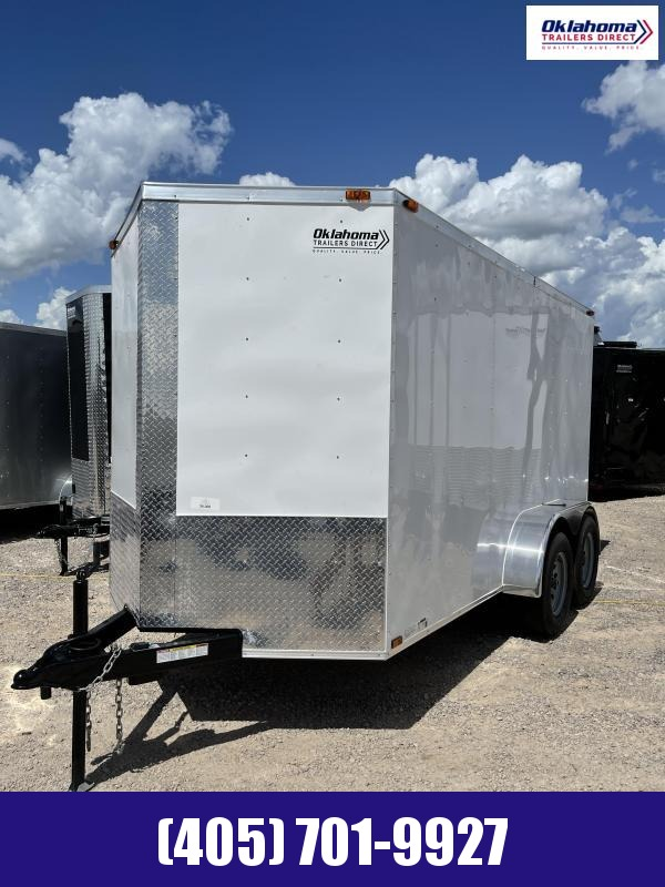 2021 Triple R 6 x 12 TA Enclosed Cargo Trailer