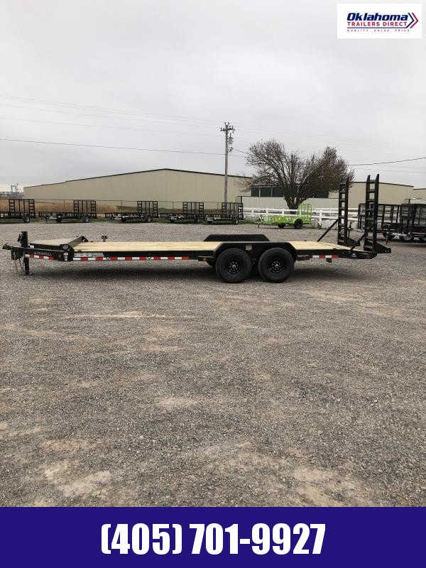 2021 Iron Bull 83 x 22' TA Equipment Trailer