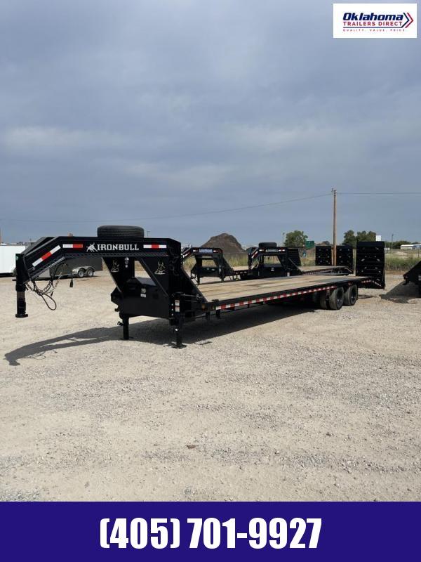 "2021 Iron Bull 102"" x 36' Gooseneck Equipment Trailer"