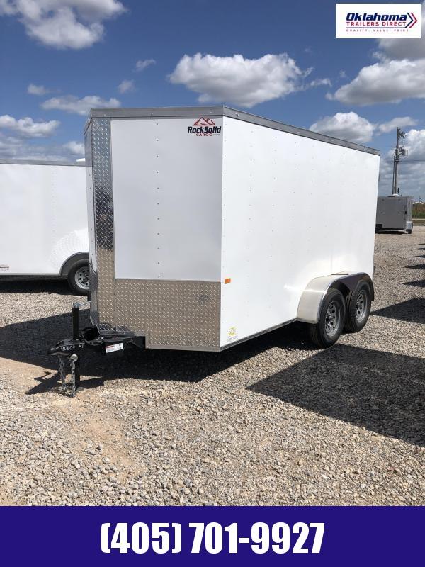 2022 Rock Solid Cargo 6 x 12 TA Enclosed Cargo Trailer