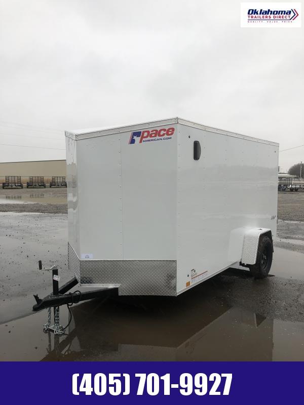 2021 Pace American 6' x 12' SA Enclosed Cargo Trailer