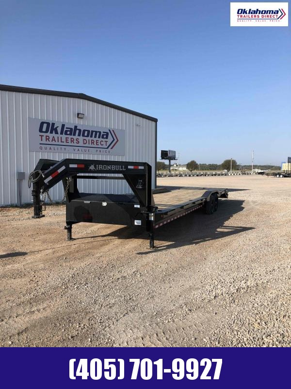 "2021 Iron Bull 102"" x 36' TA Gooseneck Equipment Trailer"