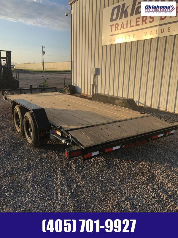 "2020 Load Trail 83"" x 18' Equipment Trailer"