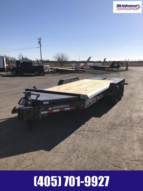 "2021 Iron Bull 83"" x 18' TA Equipment Trailer"