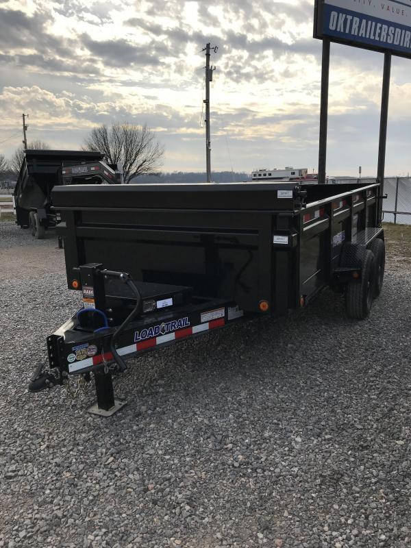 """2021 Load Trail 83"""" X 14' TA Dump Trailer"""