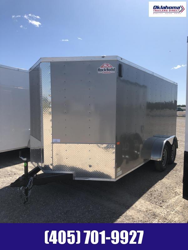 2020 Rock Solid Cargo 7'x14' TA Enclosed Cargo Trailer