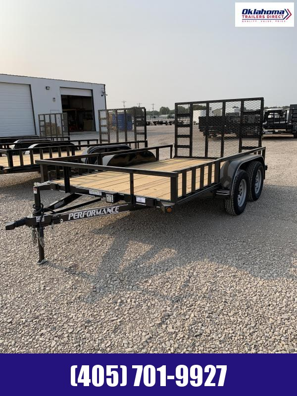 2021 Performance Trailers 77 x 12 Utility Trailer