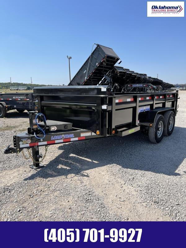 """2022 Load Trail 83"""" X 14' Tandem Axle Dump Trailer"""