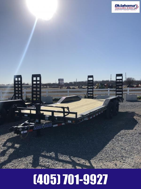 "2021 Load Trail 102"" x 20' TA Equipment Trailer"