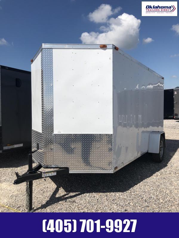 2021 Triple R 6' x 12' SA Enclosed Cargo Trailer