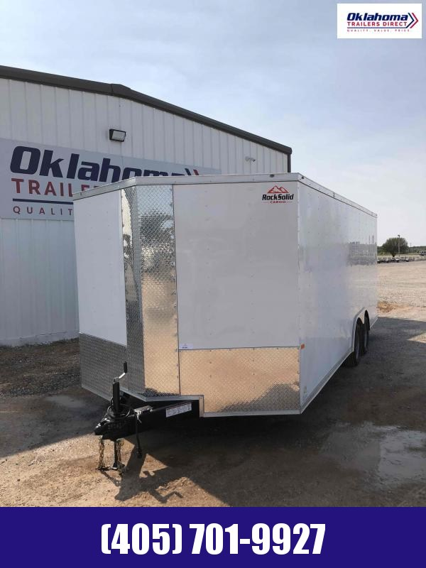"2020 Rock Solid Cargo 8.5"" x 20' Enclosed Cargo Trailer"
