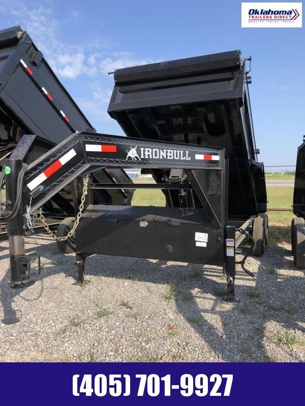 "2022 Iron Bull 83"" x 16' TA Gooseneck Equipment Trailer"