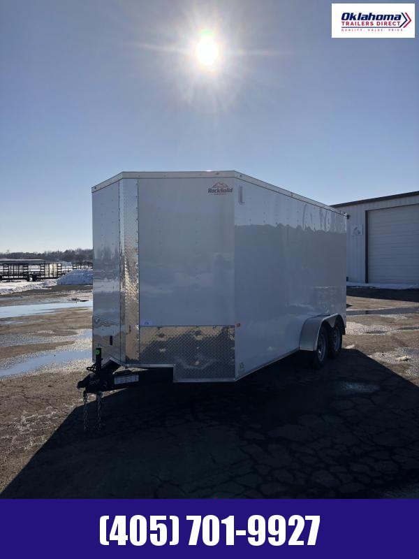 2021 Rock Solid Cargo 7' x 16' TA Enclosed Cargo Trailer Enclosed Cargo Trailer