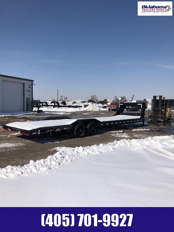 "2021 Load Trail 102"" x 32' TA Gooseneck Equipment Trailer"