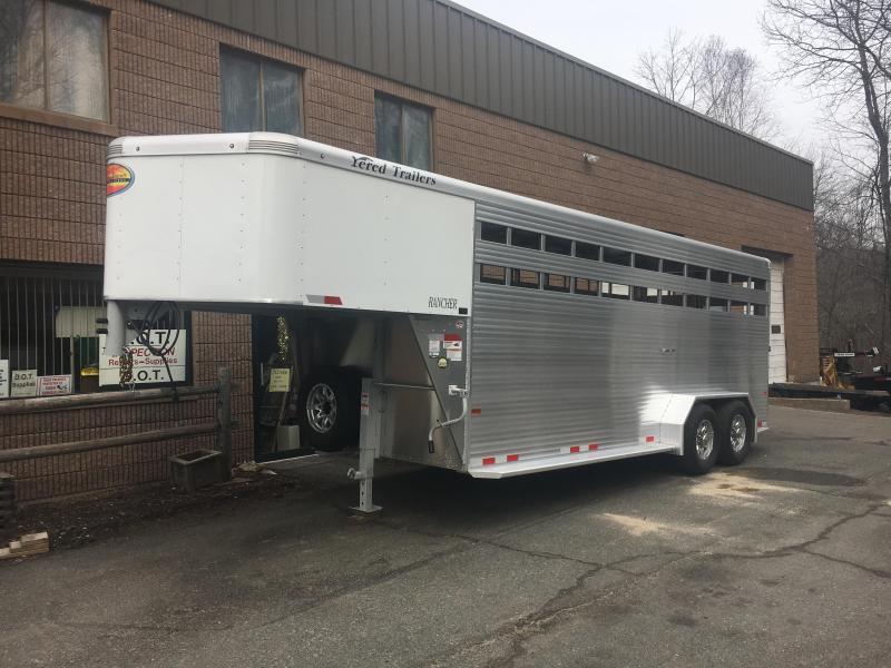2022 Sundowner Trailers Rancher GN 720 Livestock Trailer