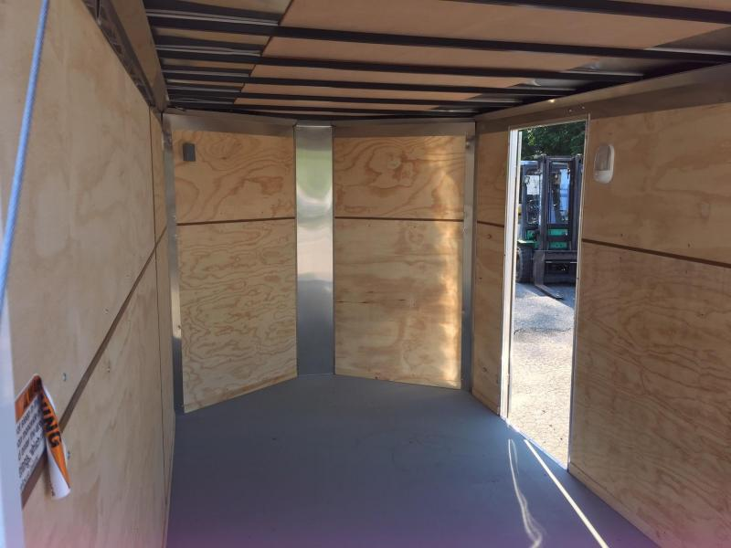 Integrity Trailers Enclosed Bike Trailer 7x12 Motorcycle Trailer