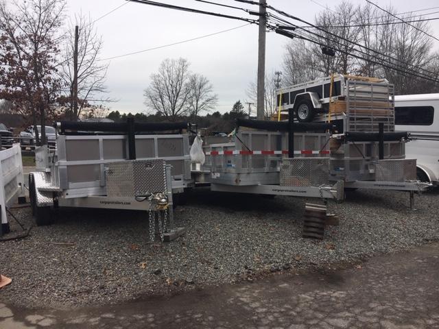 2021CargoPro Trailers Aluminum Dump Trailers Dump Trailer