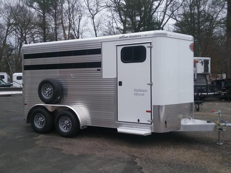 2021 Sundowner Trailers Stockman 3H Slant Combo BP Horse Trailer