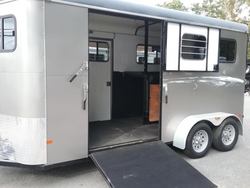 2013 Cotner Trailers Inc. Royal D/R w/Side Ramp Horse Trailer