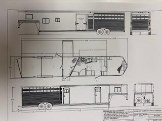 2020 Lakota Living Quarters Horse Trailer