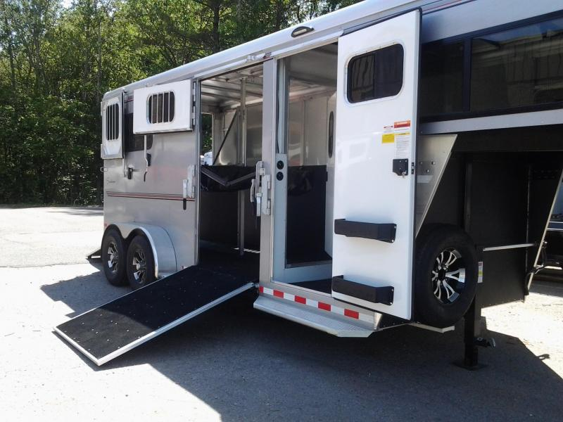2020 Sundowner Trailers Charter 2h Gn Horse Trailer/Side Unload