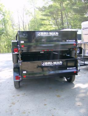 2020 Bri-Mar DT 6 x 10 LP-LE Dump Trailer