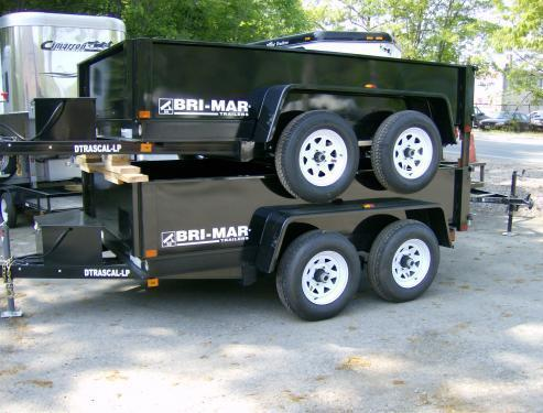 2021 Bri-Mar DT 6 x 10 LP-LE Dump Trailer