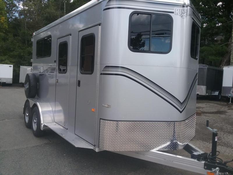 2021 Kingston Trailers Inc. 2h Endurance D/Room Horse Trailer