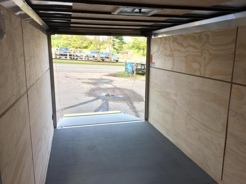 2021 Integrity Trailers 7x16 Motorcycle Trailer