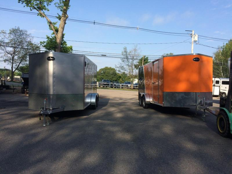2020 Integrity Trailers 7x16 Motorcycle Trailer