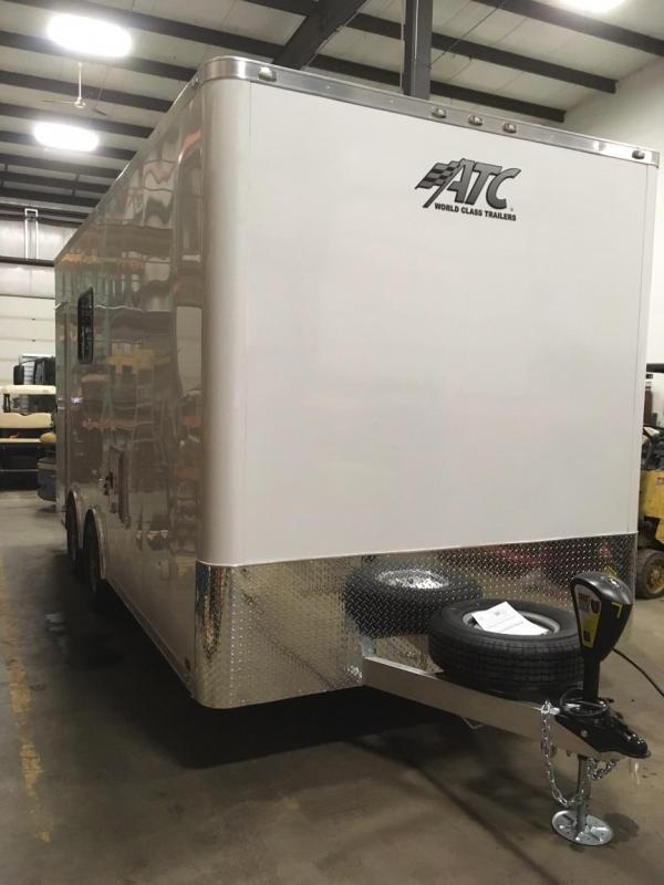 2018 Aluminum Trailer Company ATC ENCLOSED Enclosed Cargo Trailer