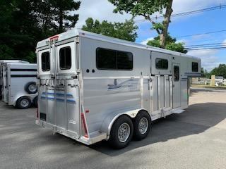 2019 Kingston Trailers Inc. 2019 Brunswick GN Horse Trailer