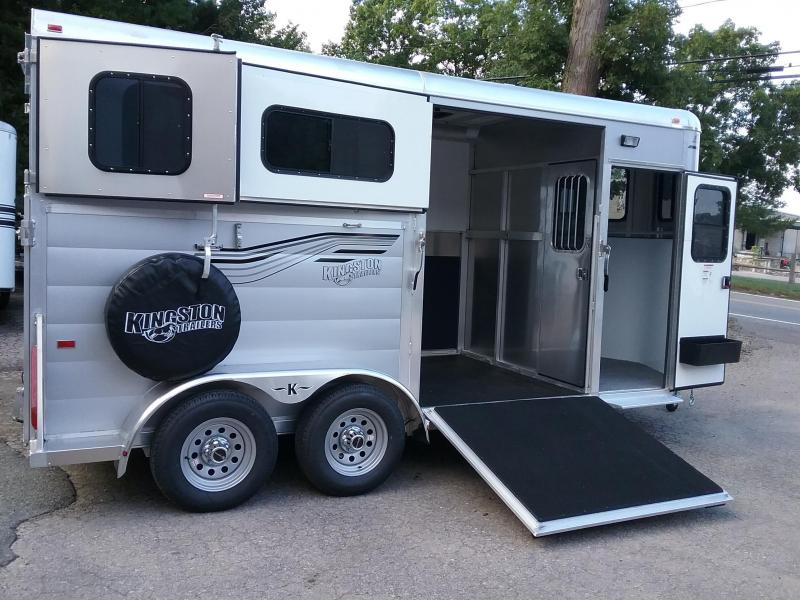 2021 Kingston Trailers Inc. Newport D/R Horse Trailer